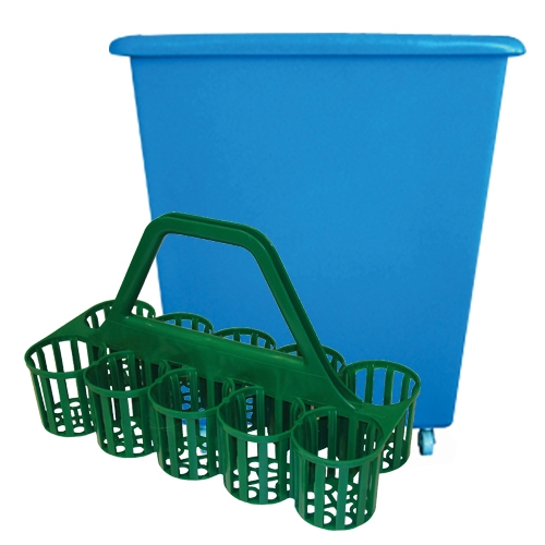 Glass Storage, Caddies and Skips Buying Guide