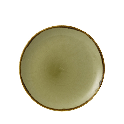 Dudson by Churchill Harvest Green Coupe Plates