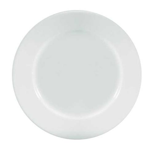 Plain White Porcelain Deep Winged Plates