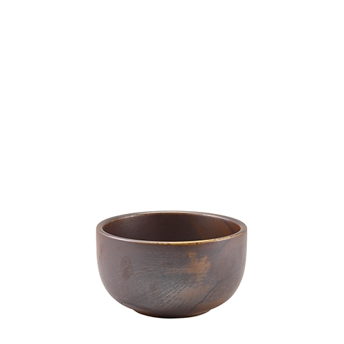 Rustic Copper Round Bowl