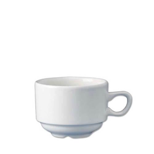Churchill Plain White Teacup 7.4oz