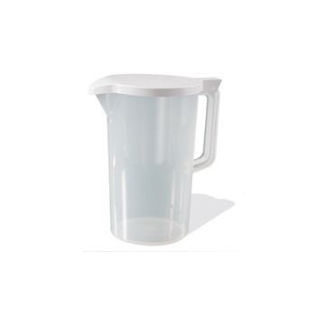 Plastic Serving jug with lid 2.2Ltr Clear