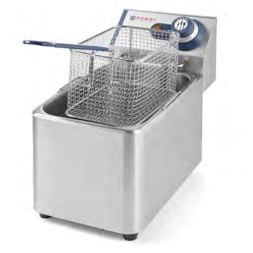 Hendi Deep Fryer Blue Line Single 4Ltr Silver