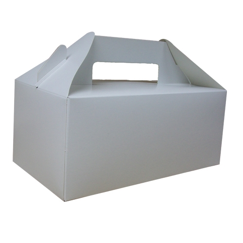 Colpac Biodegradable Standard Carry Pack Box 22.8 x 12.2 x 9.7cm White