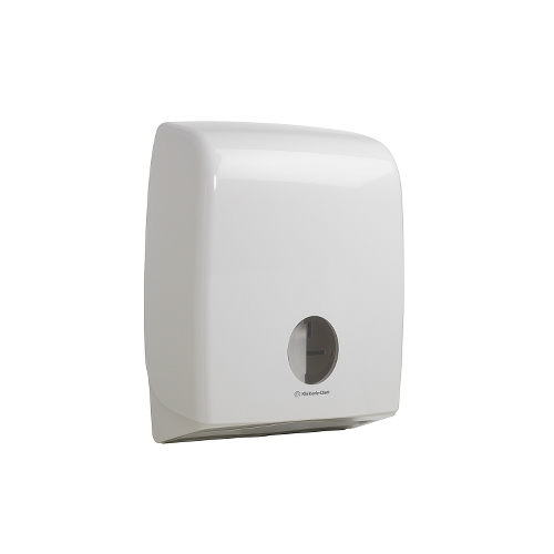 Kimberly Clark AQUARIUS Folded Toilet Tissue Dispenser 40.7cm x 31.7cm x 14.7cm White