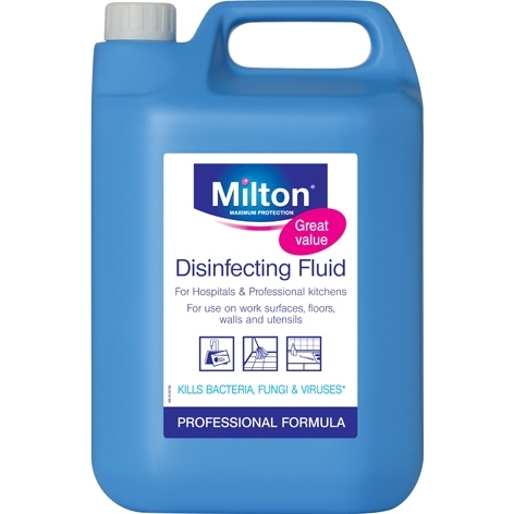 Milton Professional  Disinfecting Liquid 5Ltr Clear