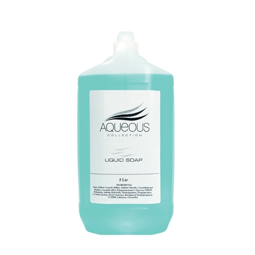 Aqueous Hand Wash Liquid Soap 5 Ltr Blue