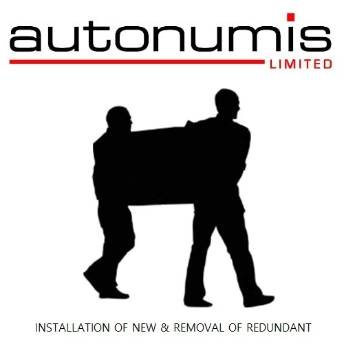 Autonumis Install & Removal on Delivery of New