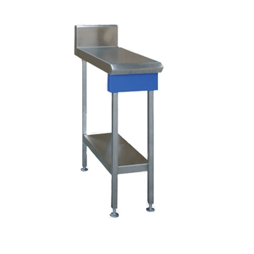 Blue Seal Profiled In-Fill Table 300mm Wide Stainless Steel