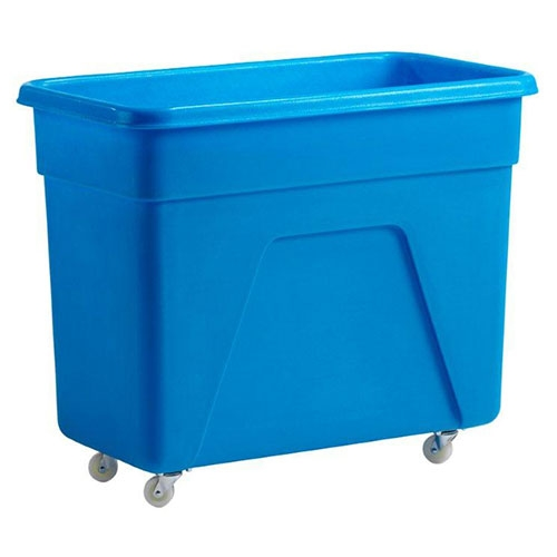 Beaumont Trolley/Bottle  Skip 160Ltr Blue