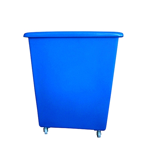 Beaumont Trolley/Bottle  Skip 185Ltr Blue