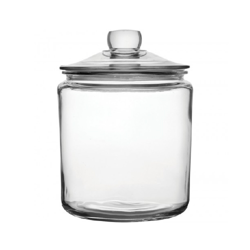 Utopia Biscotti Cookie Jar 3.8Ltr  Clear