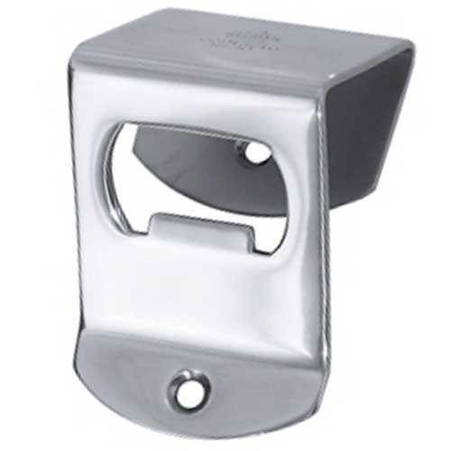 Wall Mounted  Bottle Opener 7cm x 4.5cm Silver