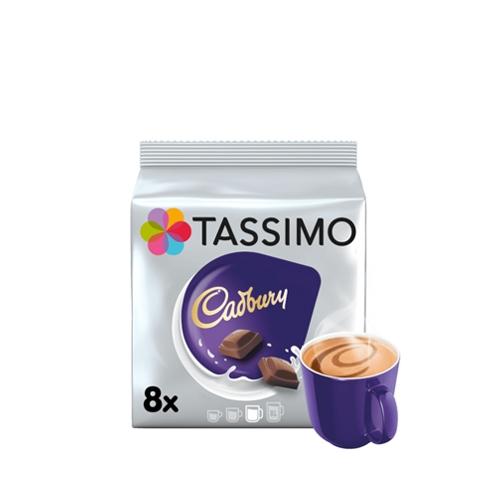 Tassimo Cadbury  Chocolate Pods 8 Pods