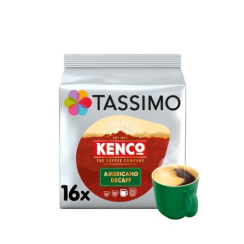 Tassimo Kenco Americano Decaff Coffee Pods 16 Pods