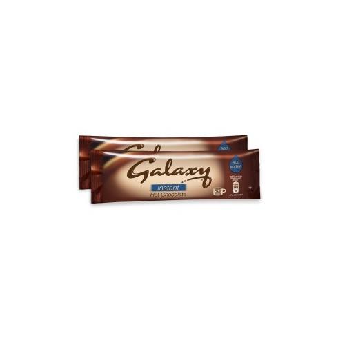 Galaxy Drinking Chocolate Sachets 25g Brown