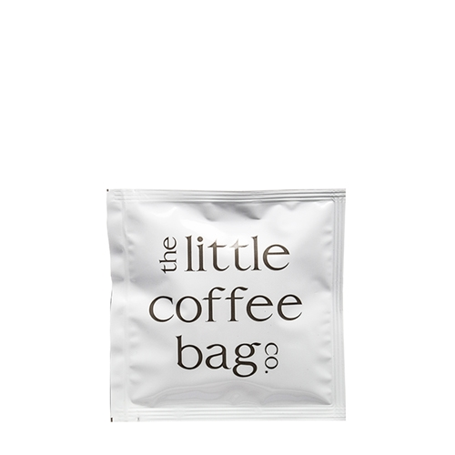 The Little Coffee Bag Co Blend 2 Decaff Coffee Bag Sachet 10g White