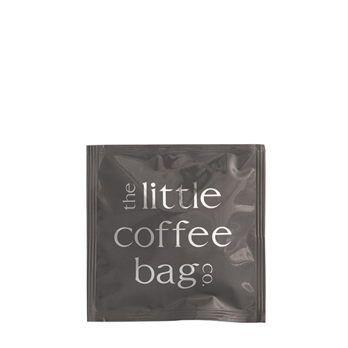 The Little Coffee Bag Co Blend 4 Organic Coffee Bag Sachet 10g Grey