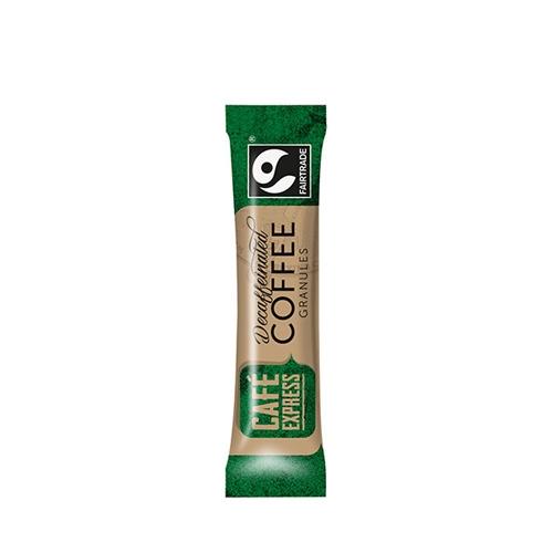 Cafe Express Fairtrade Decaffeinated Coffee Stick