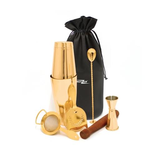 Bonzer Cocktail Kit 7 Pieces Gold