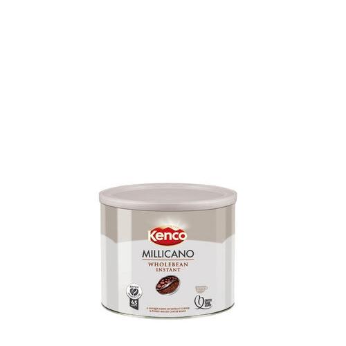 Kenco Millicano Wholebean Instant Coffee Tin 500g