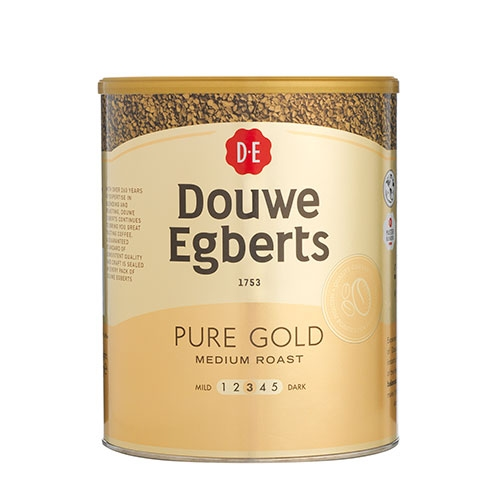 Douwe Egberts  Pure Gold  Freeze Dried Instant Coffee 750g