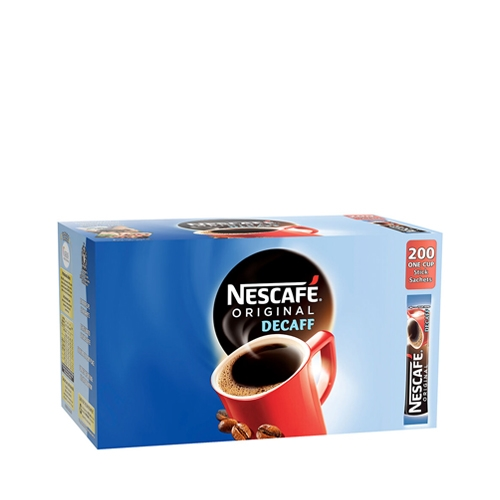 Nescafe Original Decaff One Cup Instant Coffee Stick 1.8g