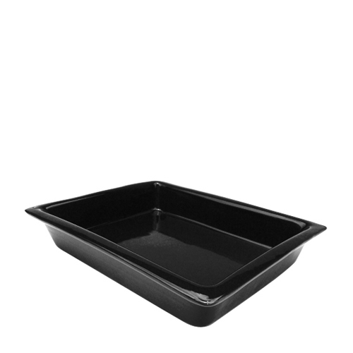Ceramic Gastronorm 1/2 60mm Black