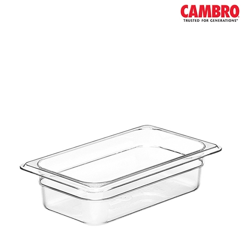 Cambro  Polycarbonate Gastronorm 1/4 Clear