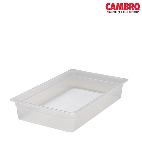Cambro  Polypropylene Gastronorm 150mm 1/1 Translucent