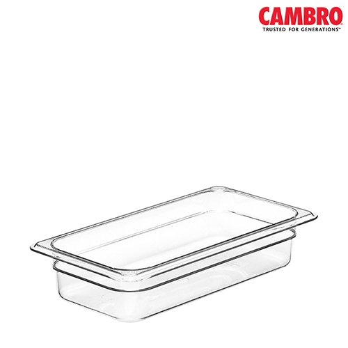 Cambro  Polycarbonate  Gastronorm (150mm) 1/3 Clear