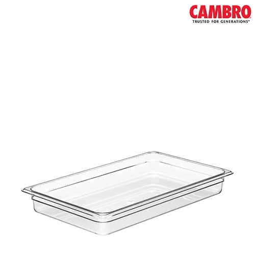 Cambro  Polycarbonate Gastronorm 200mm (D) 1/1 Clear