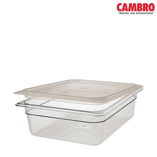 Cambro  Polycarbonate Seal Lid 1/3 Clear