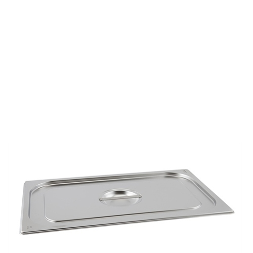 Stainless Steel Standard Lid 1/1 Silver