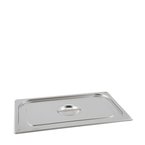 Stainless Steel Standard Lid 1/6 Silver