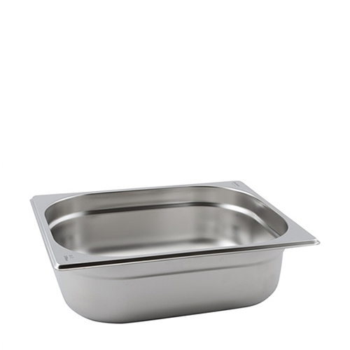Stainless Steel  Gastronorm (100mm) 1/2 Silver
