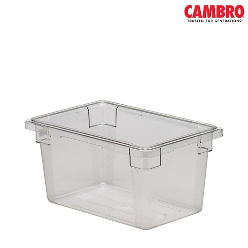 Cambro  Polycarbonate Food Storage Box 457x305x229mm Clear