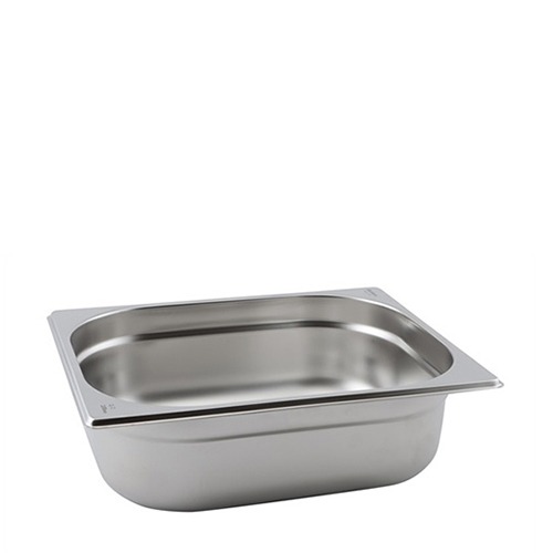 Stainless Steel  Gastronorm (150mm) 1/2 Silver