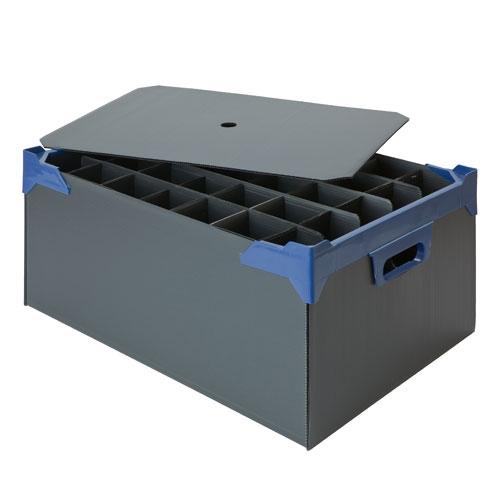 Storage Box for 35 glasses
