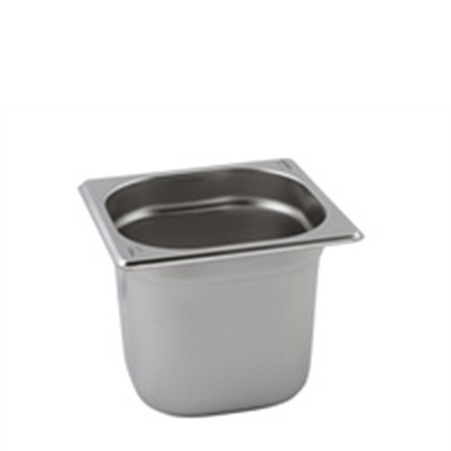 Stainless Steel  Gastronorm 1/6 Silver