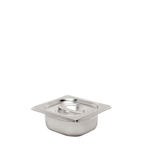 Stainless Steel  Gastronorm 1/9 Silver