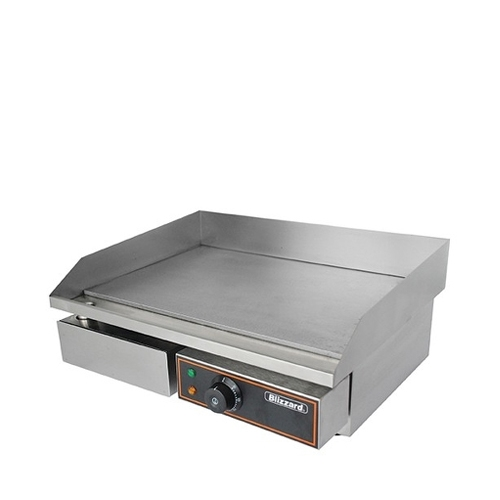 Blizzard BG1A Flat Top Griddle 550mm (W) x 484mm (D) x 237mm (H) Stainless Steel