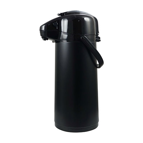 Elia Glass Lined Lever  Airpot 1.9ltr Black