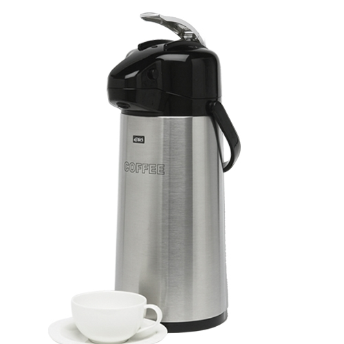 Elia Stainless Steel Lever Airpot - Coffee 1.9L Silver