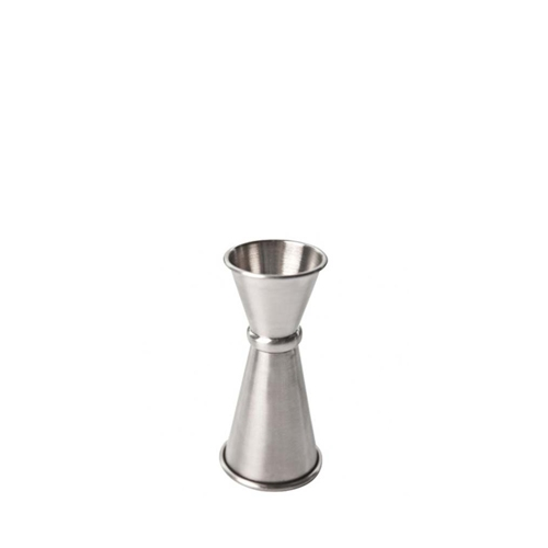 Beaumont Japanese Double Jigger 25/50ml, 20/40ml Silver
