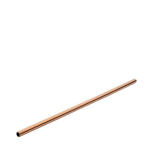Utopia Stainless Steel Straw 21.5cm Copper