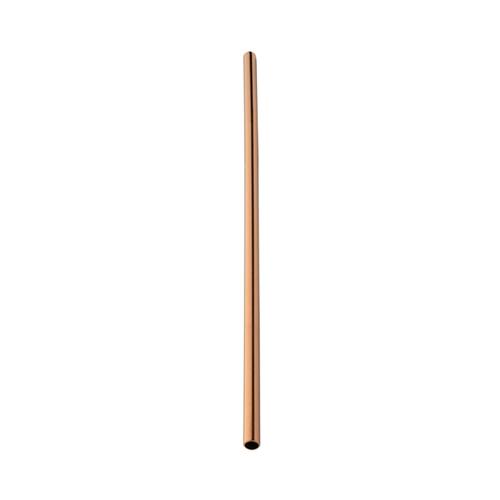 Utopia Stainless Steel Copper Straw 21.5cm