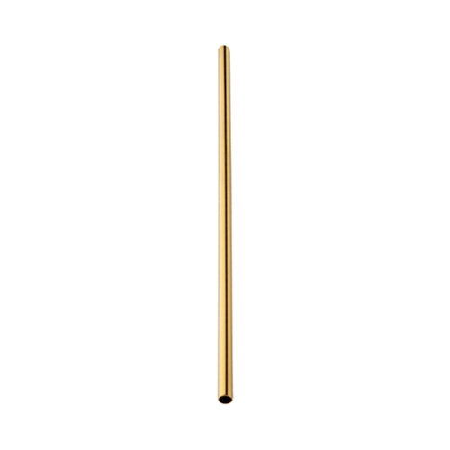 Utopia Stainless Steel Gold Straw 21.5cm