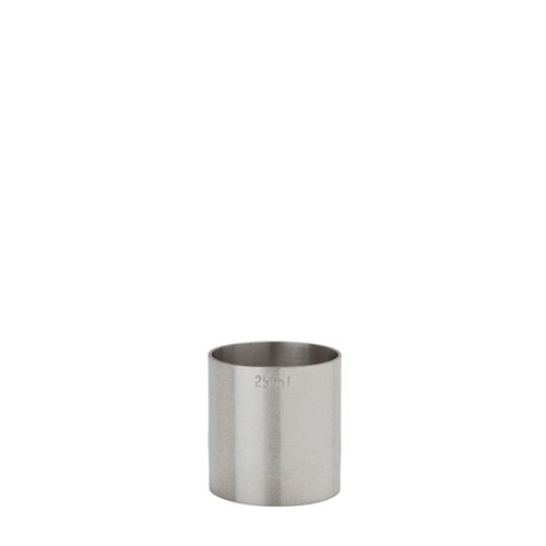 Beaumont Stainless Steel Thimble Measure 25ml CE Silver