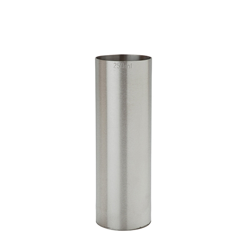 Beaumont Stainless Steel Thimble Measure 250ml CE Silver
